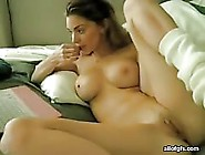 Naughty Teen Toying Her Hot Pussy Intensely