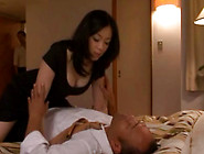 Bored Milf Michiru Sakura Decides To Suck Sleeping Guys Cock