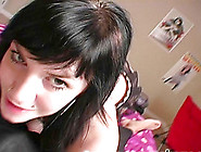 Bikini-Clad Brunette With Nice Big Tits Teasing Her Boyfriend