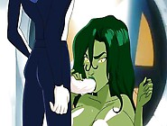 She Hulk Has Huge Floppy Tits