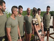 Mouth Watering Bitch Lauren Minardi Picks Up Soldiers For Dirty