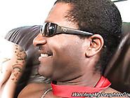 Freaky Black Guy In Sunglasses Doggy Fucks Torrid Blond Teen Fay