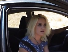 Blondie Seduces The Border Patrol Agent And Gets Pounded