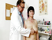 Disgusting Bitch Slavomira Has To Pose Naked In Front Of Spoiled