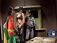 Batman En Robin Neuken Catwoman