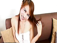 Pigtailed Ladyboy With An Erected Beauty Cock Pov Style