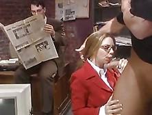 Nympho Secretary In Public... F70