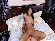 Nice Fake Tits On This Hot Hardcore Black Chick