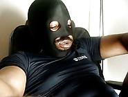 Thick Black Oily Cock The Jerk Off Show (No Cum)