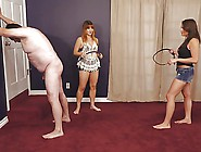 Very Hard Whipping By Two Sadistic Mistresses