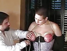 Sex Tube Tortured,  Bound And Spanked Tits
