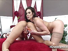 Kendras Webshow On Lust And Erotic Toys With Friends To Play Wit