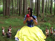 The Busty Dirty Snow White - Fantasy Blowjob Handjob In The Deep