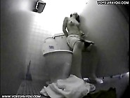 Sexy Japanese Girl Dorm Toilet Onanism