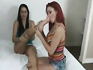 This Redhead Loves Licking Some Dirty Feet