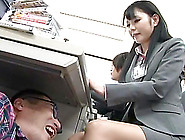 Slutty Japanese Office Girls Get Their Tits Massaged