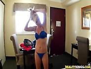 Daniel Hunter Pets Sweet Pussy Of Elaina Raye