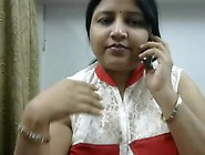 Desi Horny Aunty Phone Chat With Lover With Dirty Hindi Audio