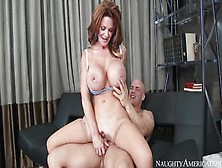 Juicy Busty Mom Deauxma Is Weared In Hot And Sexy Stockings