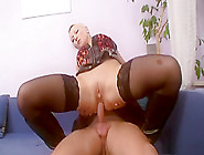 Horny Pornstar Gina Blonde In Amazing Threesome,  Anal Sex Clip