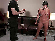 Casting For A Bdsm Scene With A Slender Babe Charolette Bloom