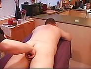 Fat Mature Dude Enjoying A Finger Fuck