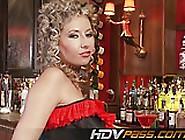 Big Tit Brunette Babe In Stocking Masturbate Daria Glower