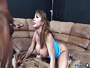 Pretty Buxomy Oriental Ava Devine Taking Part In Very Hard Group
