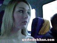 Blonde With Big Boobs Ass Groped In Bus