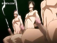 Hentai Goddess Watching A Hardcore Orgy With Sex Slaves