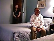 Cuckold Hubby Filming Wife Whit Young Man