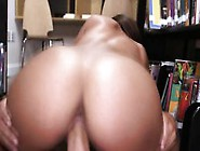 Big Booty Chick Carrie Brooks Gets Fucked In Library