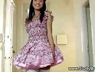 Beautiful Teen Is Wearing Her Prom Dress And About To Get Fucked