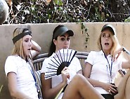 Four Naughty Young Hot Girls Plays Each Others Pussy By