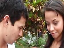 Hot Oye Loca Video Starring Marcellinha Moraes,  Abril Santamaria