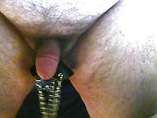 ballstretching and nipple play