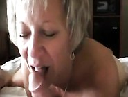 Mature Blonde Gives Him Head In Between Getting Her Cunt Nailed