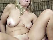 Nasty Blonde Granny Enjoys Twat Dildoing In Solo