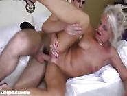 Young Boy Fucks Hard Hot Granny