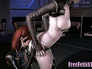 3D Futanari Assjob In Space - Freefetishtv. Com