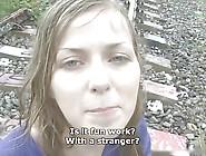 Sweet Cute Czech Girl Gets Fucked In The Rain