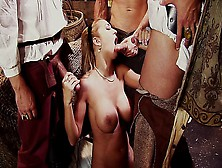 Trina Michaels Triple Teamed By Horny Pirates
