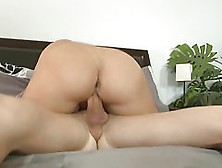 Horny Blonde Woman,  Katja Kassin With Nice,  Round Ass Is Gently