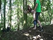 Nerdy Gf Having In The Woods