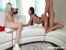 Nicky Alana Has Threesome In Pov