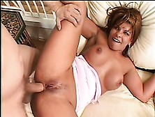 Ravishing Brunette With Big Tits Rio Mariah Gets Her Fiery Butt
