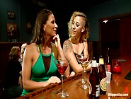 Out Of Town Girl Tricked And Tortured By Pantyhose Tribbing Lesb