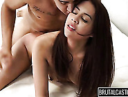 Teen Doggystyle With A Small Titty Slut