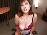 Insatiable Japanese With High Heels Is Sucking Erection