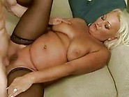Busty Fat Grandma Gets Anal Fucked